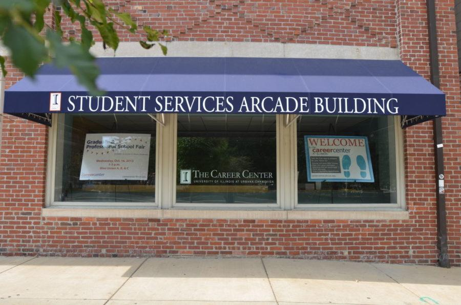 The Career Center on Wright Street is a resource for students at the University. They offer services such as career advising, mock interviews and career fairs.