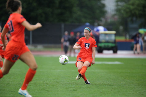Illinois soccer's Breece uses 'flip throw' as secret weapon