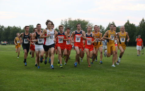 Illinois men's cross-country heads to Wisconsin Adidas Invitational