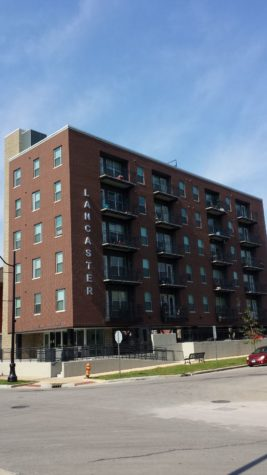 New apartment buildings welcome tenants