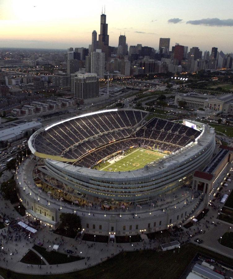 Chicago%E2%80%99s+renovated+Soldier+Field+stadium+is+shown+before+the+Bears%E2%80%99+Monday+Night+Football+game+on+Sept.+29%2C+2003.