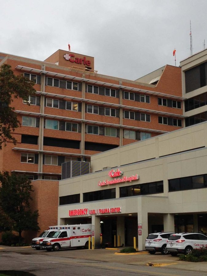 City of Urbana expresses displeasure with the Carle Foundation Hospital's tax exemption.
