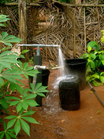 Engineers Without Borders successfully provides clean water in remote Adu Achi