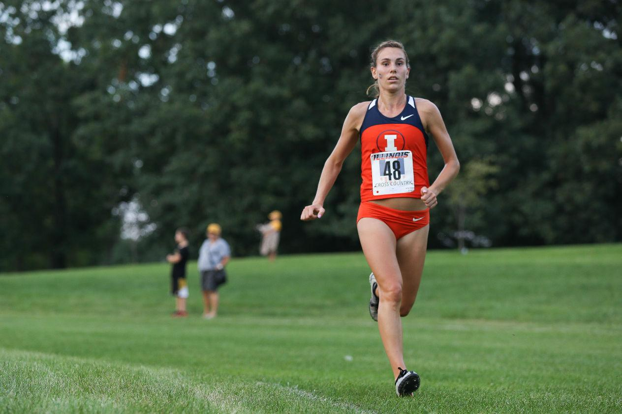 The Illinois men's cross-country team starts off strong at the Illini Open 2014 at the Arborteum on Saturday. The team will compete for the Big Ten Championship on Sunday.
