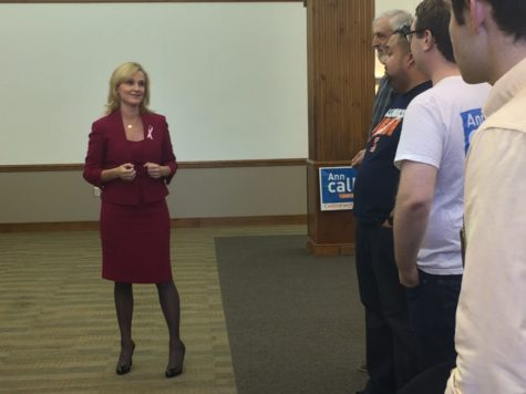 Democratic candidates Callis, Ammons make UIUC stop on the campaign trail