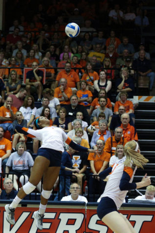 Illinois volleyball finish road trip on high note