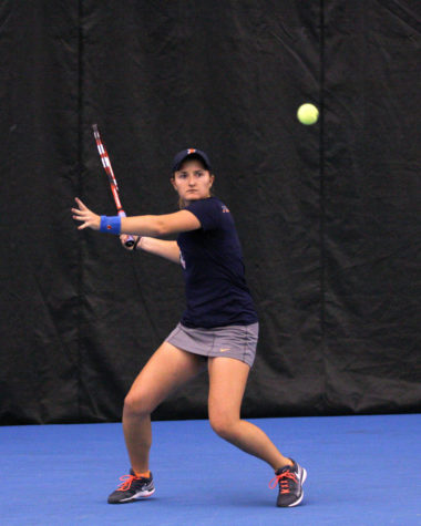 Kopinksi, Illini women's tennis looks to bounce back in last fall tournaments