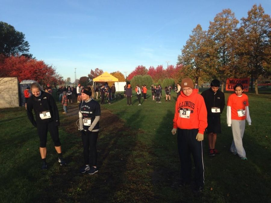 The Homecoming 5k returns after nearly a decade on Sunday, Oct. 19, 2014 at the Arboretum.