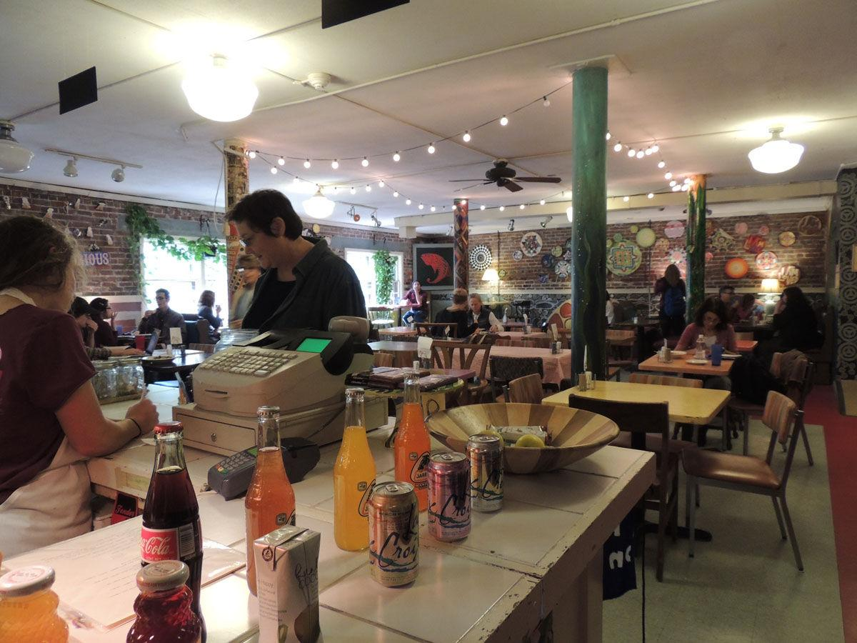 The Red Herring, located at 1209 W. Oregon St. in Urbana, is one option on campus for students seeking vegetarian meals. October is National Vegetarian Awareness Month.