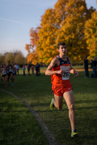 Illinois men's cross-country fails to place at Illini Open