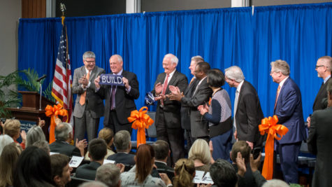 ECE dedicates new building; Quinn speaks