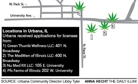 Medical marijuana companies compete for Urbana facility