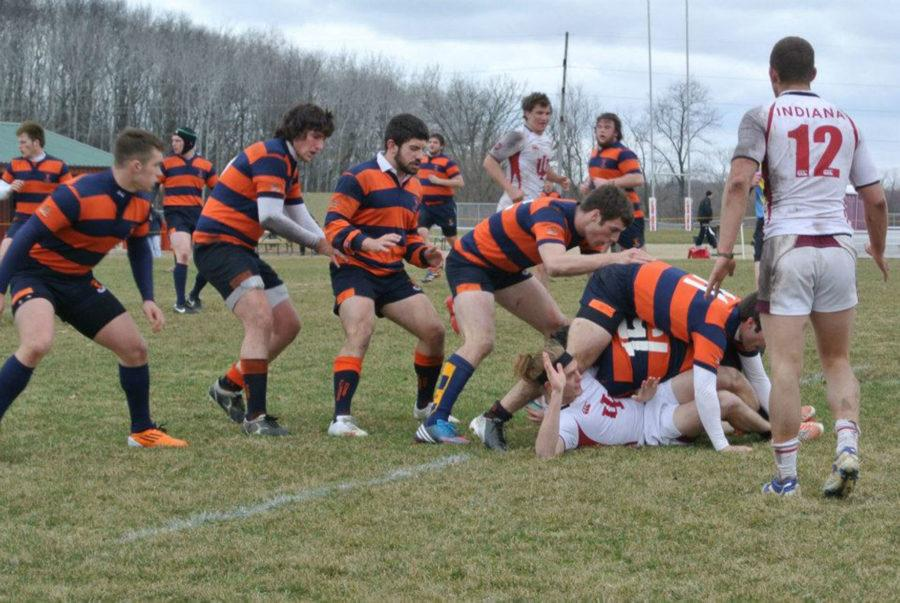 The Illinois men's rugby team is a club sport, although the club is working to promote its popularity on campus. The team is in the most competitive league, Division 1-A, operated by USA Rugby and not by the NCAA.