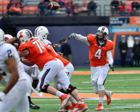 O'Toole leads Illini football to senior day victory
