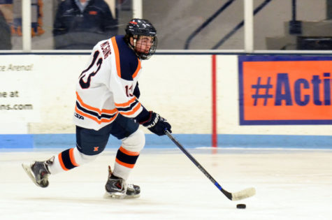 Illinois hockey looks to get back on track against Iowa State