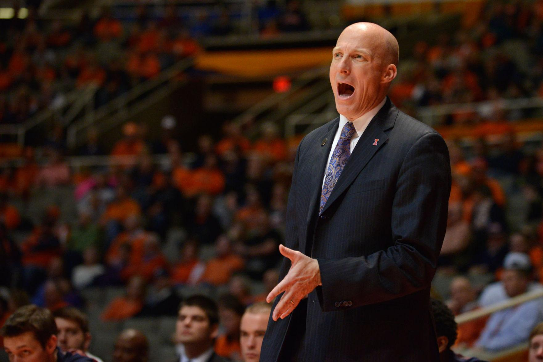 Illinois head coach John Groce and his staff spend the summer chasing prized recruits during the grueling offseason.