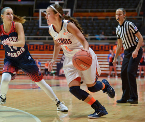 Illinois women's basketball looks to keep momentum against Memphis