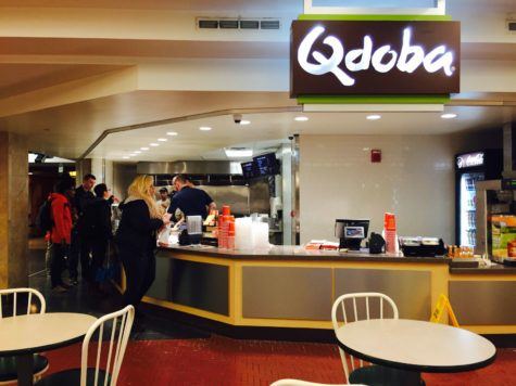 Qdoba Mexican Grill returns to campus this week at its new location in the Illini Union food court.