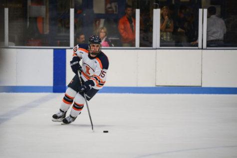 Hockey team swept in away series against Lindenwood