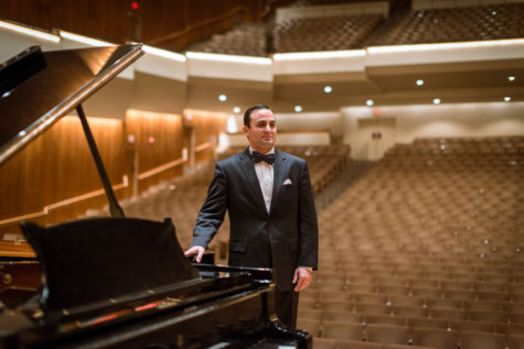 Pianist, National Guard officer performs for 'A Salute to Veterans'