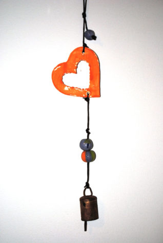 One of the 1,500 total bells hanging in the Champaign-Urbana area, sponsored by Be Kind Illinois.