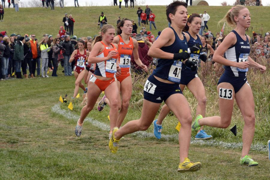 Illinois women's cross-country placed ninth at the Big Ten Championships in Iowa City, Iowa, this weekend. Michigan State finished first and Wisconsin finished second.