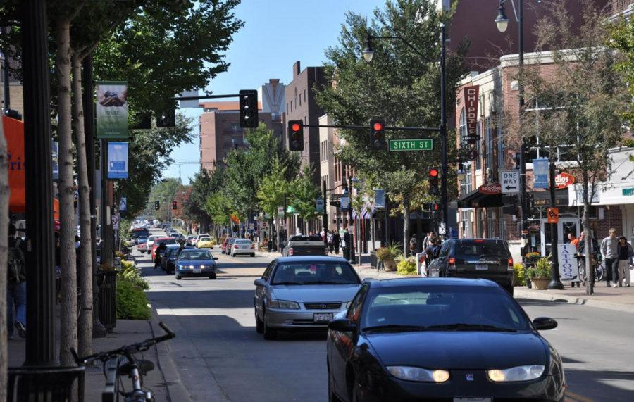 Campustown businesses arent letting ongoing construction affect their shops this summer, as they participate in the Champaign Center Partnerships 13 Thursdays. Each Thursday, participating locations offer deals and discounts to residents to attract more people to campus.