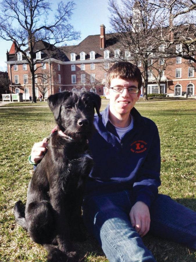 Illini Service Dogs give students brief pet companionships