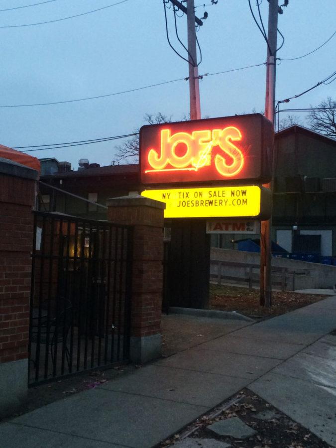 Joe's Brewery on Fifth Street.