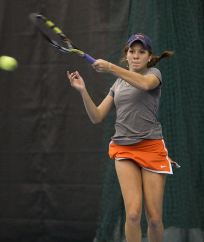 Illinois women's tennis moves past fall struggles