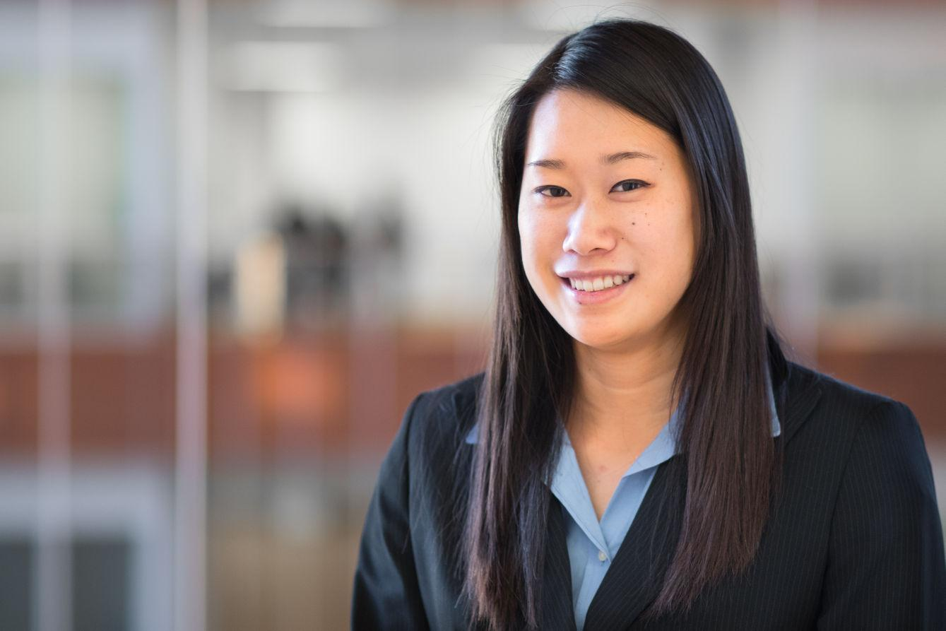 Portrait of Abigail Ling, President of the James Scholar Committee for Business