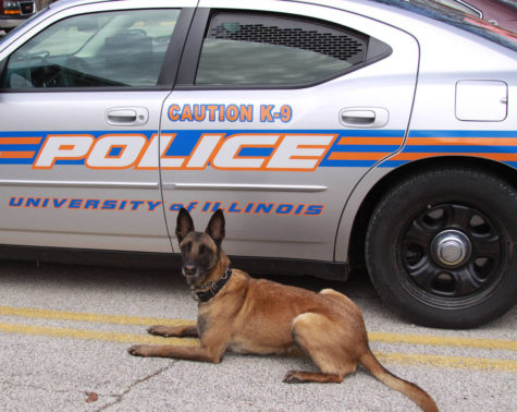 University police's first bomb dog dies at the age of 12