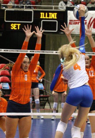 Viliunas' return from injury can't spur on Illini volleyball