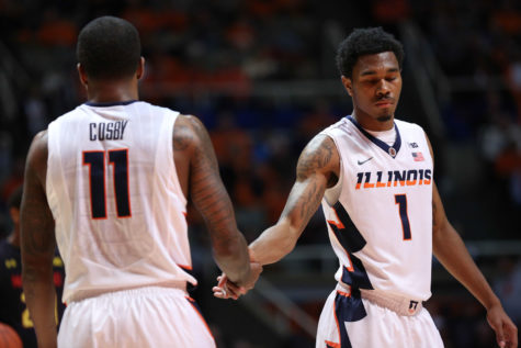 Illinois basketball wins behind solid shooting from Nunn and Cosby