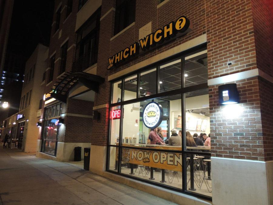 After opening on Dec. 15, Which Wich, located at 512 E. Green St., has become the newest customized sandwich shop on campus.