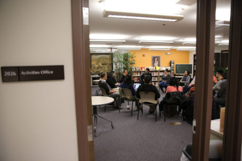University police, University Housing, the Counseling Center and other organizations gathered to discuss campus safety.