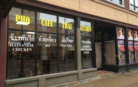 Pho Café & Thai Kitchen opens on Green Street