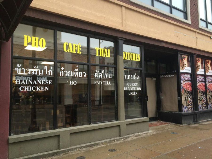 Pho Café & Thai Kitchen, located at 611-B E. Green St., is one of Champaign's newest Thai restaurants after opening in late December.