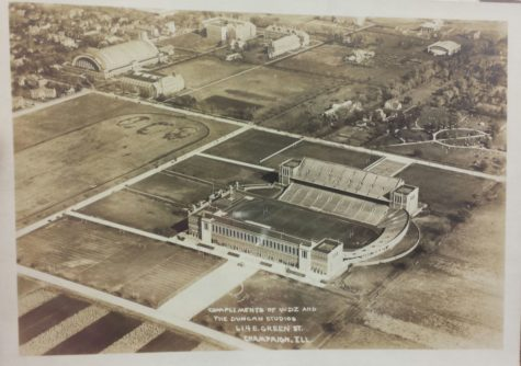 After the completion of Memorial Stadium, University President David Kinley marked it as tribute to those who lost their lives in World War I during a dedication in 1924.