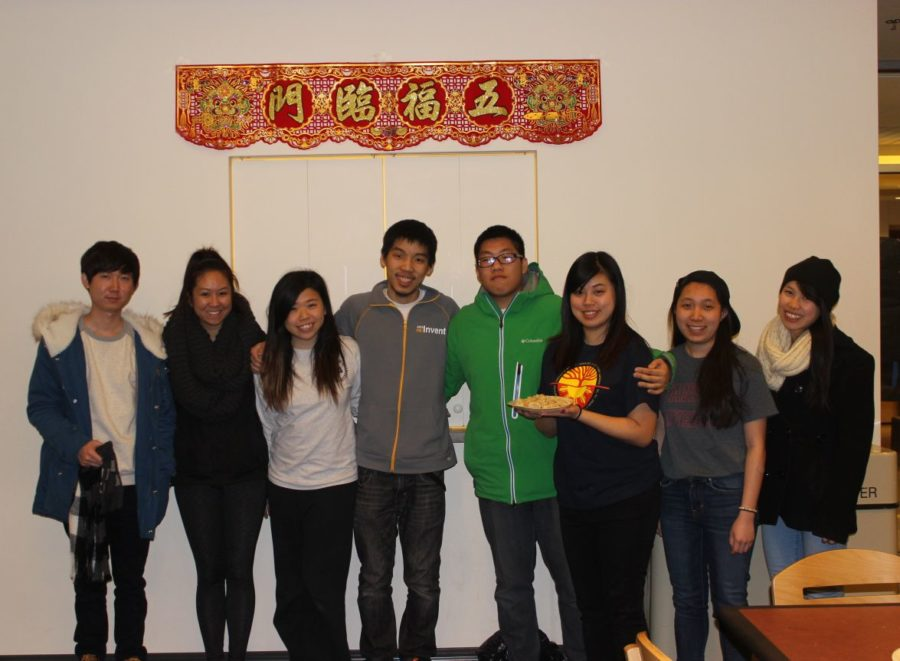The Asian American Association celebrates the Lunar New Year in the Mina Lounge of Nugent Hall on Monday.