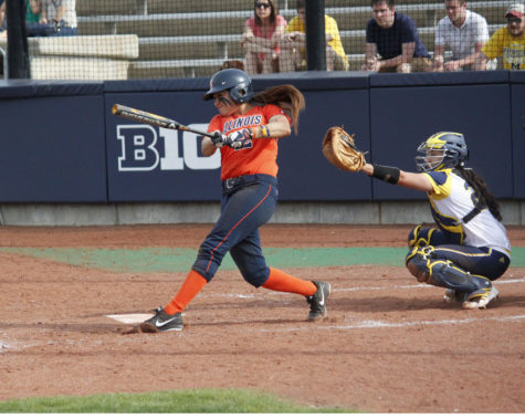 Late-inning breakdowns prove costly for Illini softball