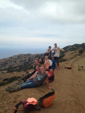 Anwen Parrott, the public relations chair of ASB and junior in LAS, on an ASB trip to Catalina Island.