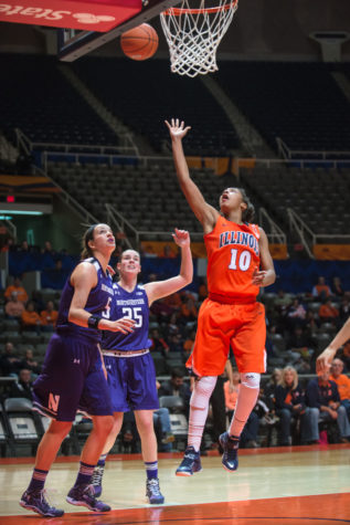 Illinois women's basketball finding its bench rotation