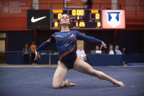 Illinois women's gymnastics takes second at Masters Classic
