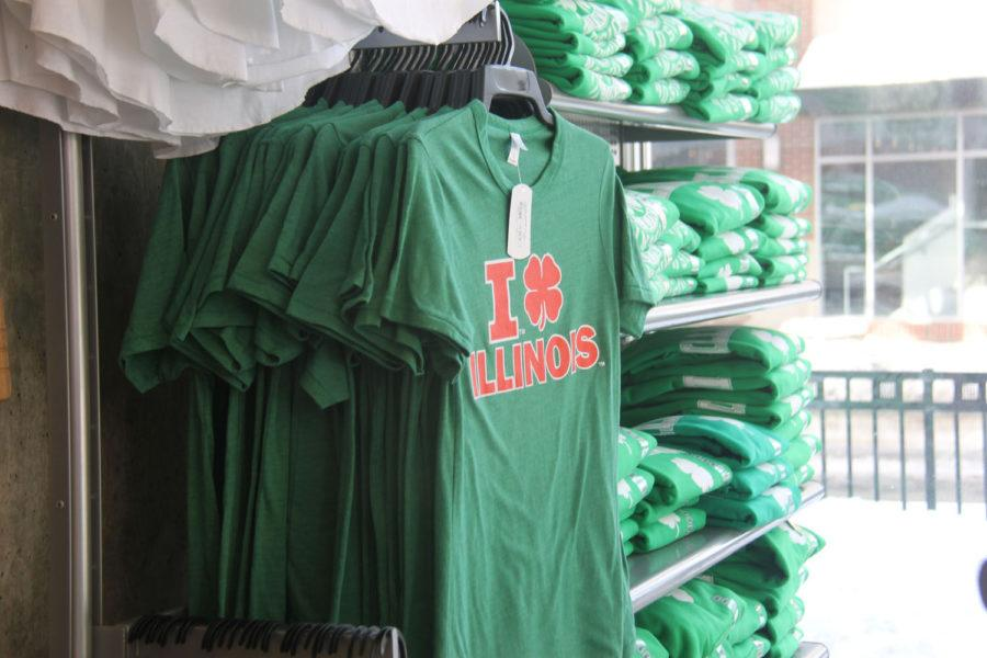T-shirt sales for Unofficial St. Patrick's Day have become a booming business in recent years for students and alumni.