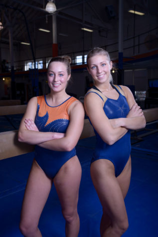 Foley and Hodan reunite with Illinois women's gymnastics