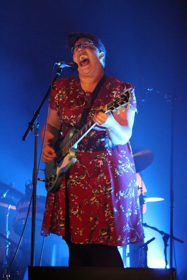 Alabama Shakes performs at the Virginia Theatre on Wednesday night.
