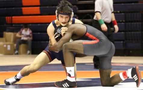 Illinois wrestling prepares for Big Ten tournament
