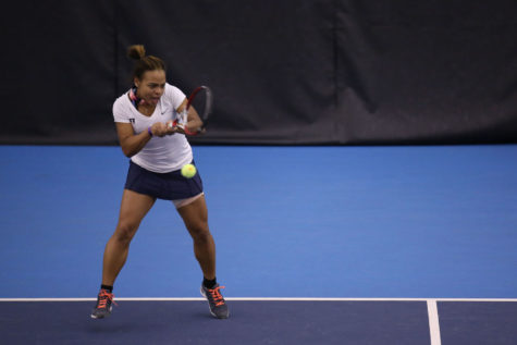 Illinois women's tennis loses all 5 spring break matches