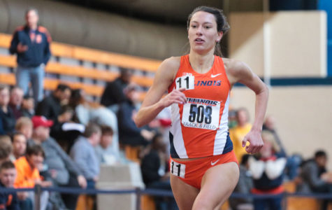 28 top-10 finishes for Illinois track and field at Vanderbilt invite